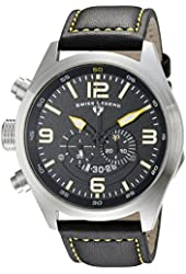Swiss Legend Men's 10020-01-YA Highlander Analog Display Swiss Quartz Black Watch