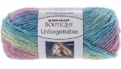 Red Heart  Boutique Unforgettable Yarn, Candied (E793.3965)