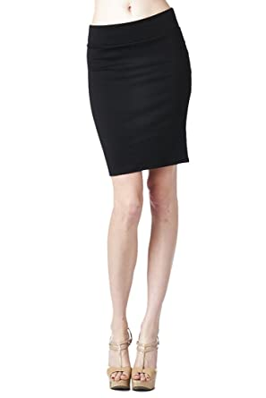 Women'S Ponte Roma From Office Wear to Casual Above Knee Pencil ...