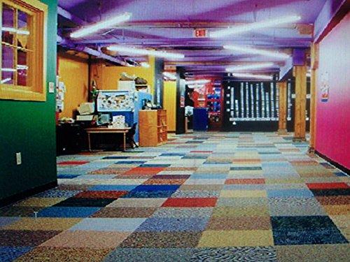Dean Commercial Carpet Tile Random Assorted Colors 48