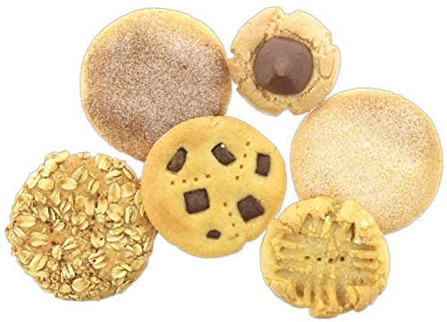 Fake Cookie Food (Set of 6 Just Dough It Fake Cookie Assortment Replica Props)