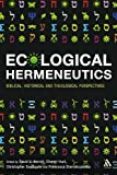 Ecological Hermeneutics : Biblical, Historical and Theological Perspectives, Hunt, Cherryl, 0567033031