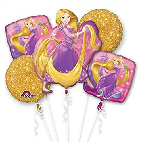 Disney Princess Rapunzel Balloon Bouquet Birthday Party Decoration Supplies -