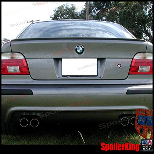 Spoiler King Trunk Lip Spoiler (244L) Compatible with BMW E39 5 Series 1997-2001
