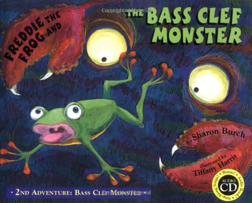 Read Online Freddie the Frog and the Bass Clef Monster: 2nd Adventure Bass Clef Monster pdf epub