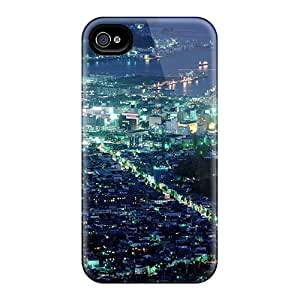 Iphone 6 Hard Back With Bumper Cases Covers Hokkaido Japan At Night