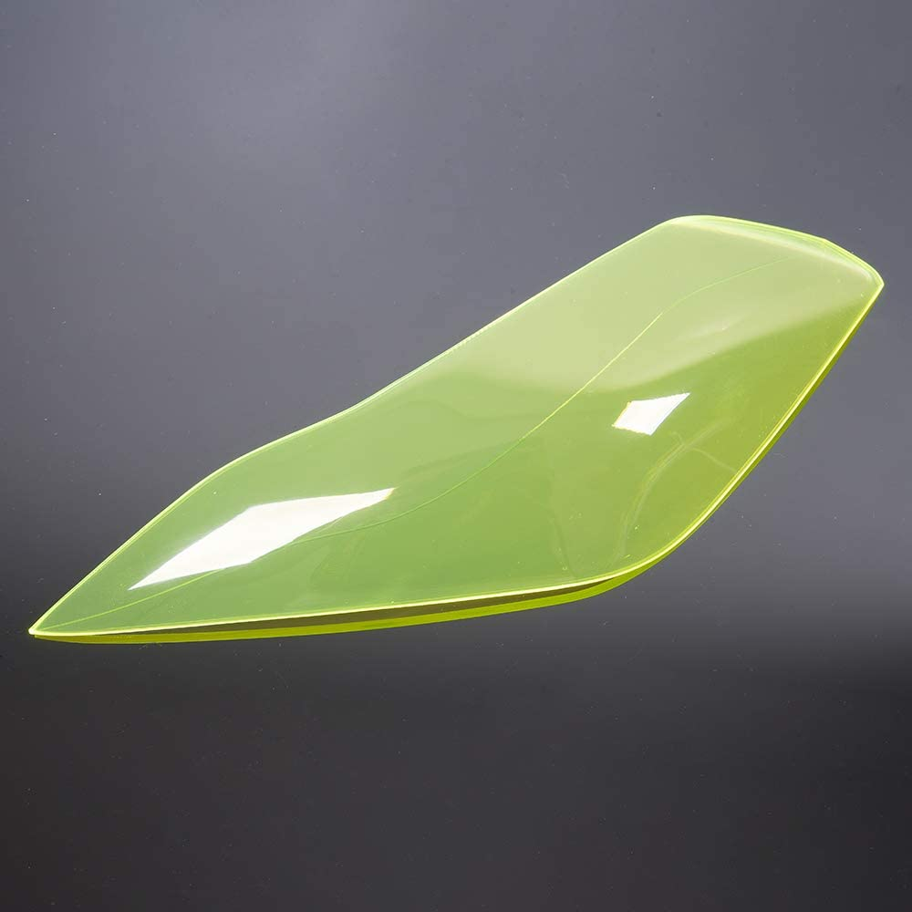 tiper Kawasaki Versys 1000 650 2015 2016 2017 2018 Lente frontale Lente di plasca Shell Head Light Dust Cover sostituzione dello schermo Verde fluorescente