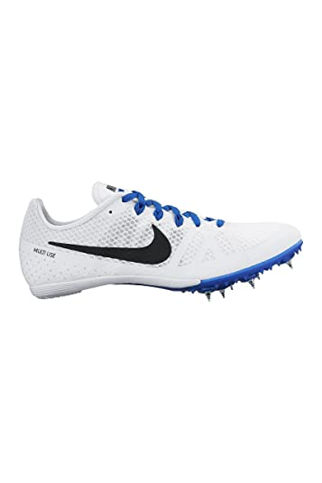 Women's Nike Zoom Rival MD 8 Track Spike White/Racer Blue/Black Size 8