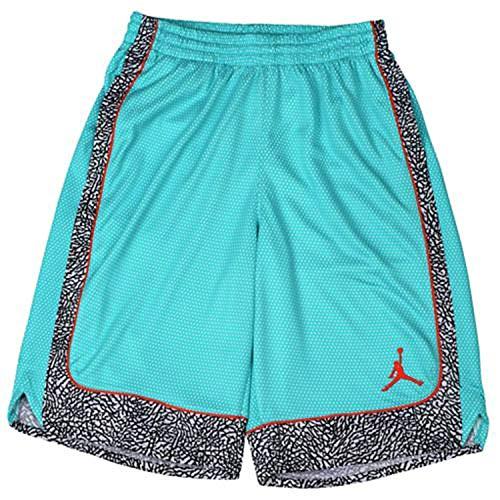 Jordan Big Boys' Elephant Print Basketball Shorts (M(10-12YRS), Retro) (Air Jordan Retro Shorts)