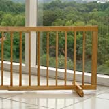 Cardinal Step Over Pet Gate - Oak