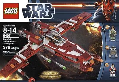 Lego Star Wars 9497 Republic Striker-class Starfighter by LEGO