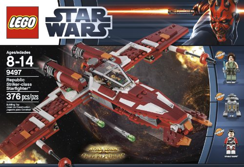 - LEGO Star Wars 9497 Republic Striker-class Starfighter