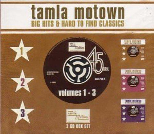 Tamla Motown: Big Hits & Hard to Find Classics, Vol. 1-3 by Spectrum Audio Uk