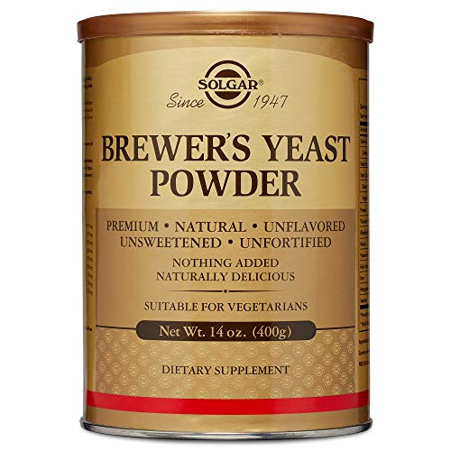 Solgar - Brewer's Yeast Powder, 14 Ounce - Supports Heart Health and Digestion (Best No Bake Chocolate Peanut Butter Oatmeal Cookies)