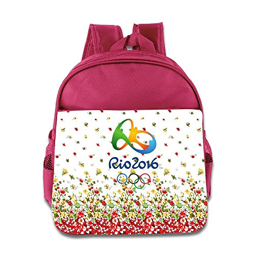 2016 Summer Olympics Logo Kids School Backpack Bag
