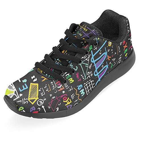 Women's 1 InterestPrint Casual Formulas Comfort Multi Running Physical Walking Shoes ZxqdSgx
