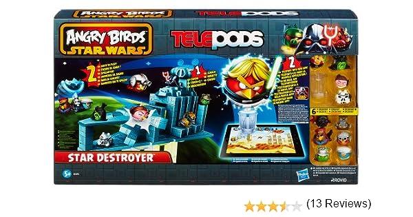 Hasbro Angry Birds Star Wars Telepods - Juego de Angry Birds en La ...