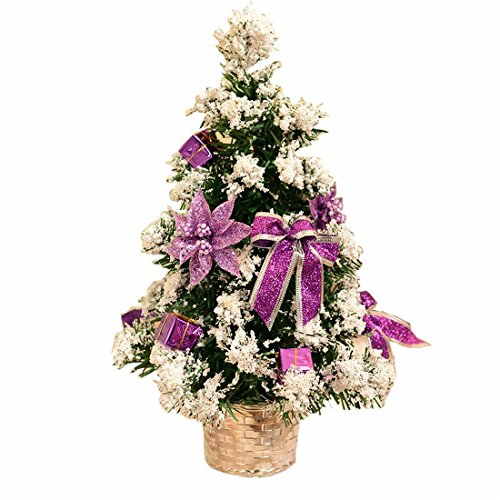 Small Artificial Christmas Tree Decorated Gife Red for sale  Delivered anywhere in USA