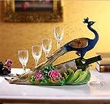 Creative home wine crafts European wine ornaments