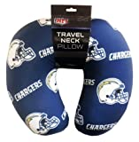 Officially Licensed NFL San Diego Chargers Beaded Spandex Neck Pillow