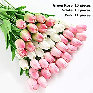 31pcs/lot Artificial Flowers Wedding Decor Simulation Bride Bouquet Calla Real Touch Flores para Home Garden Decor,Picture Color 116