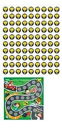 Carson Dellosa Racing Mini Incentive Charts (148003)