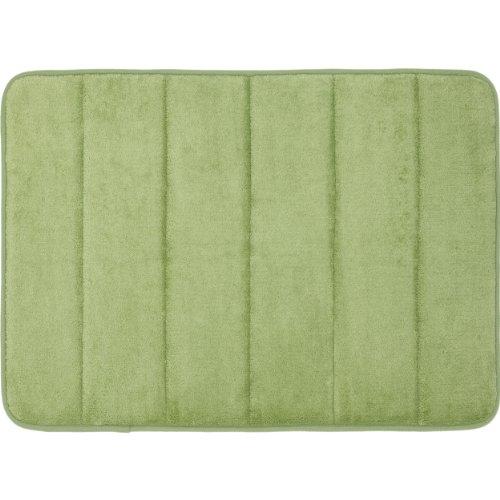 Mohawk Home Memory Foam Bath Rug, 17-Inch by 24-Inch, Sage