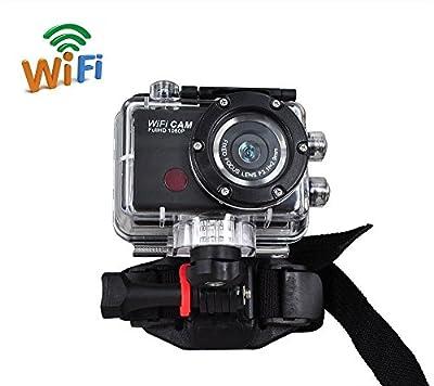 Full HD 1080P waterproof Action Sport Camera CAM WiFi DV Camcorder WDV5000 Black