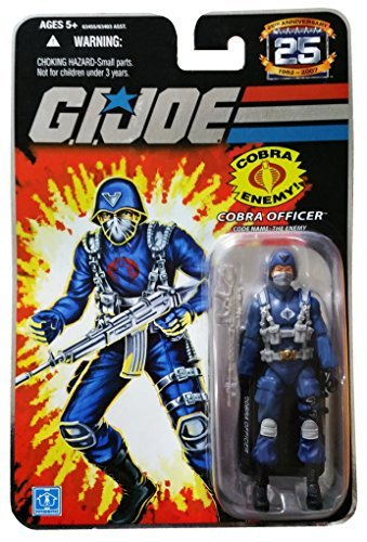 G.I. Joe 25th Anniversary: Cobra Officer (The Enemy) 3.75 Inch Action Figure -