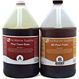 Liquid Urethane Rigid Pour Foam 4 Lb Density - 1/2Gallon Kit Total