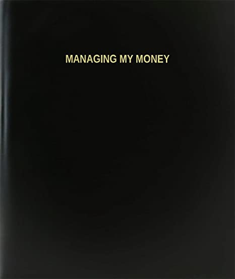 amazon com bookfactory managing my money log book journal