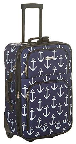 Leisure Luggage 21'' Anchor Upright Luggage Luggage 21 Inches Navy blue/pink 21' Luggage