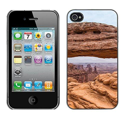 Premio Sottile Slim Cassa Custodia Case Cover Shell // F00007559 paysage // Apple iPhone 4 4S 4G