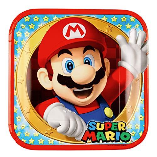 20 Servilletas diseño Super Mario brothers | 33 x 33 cm de 2 ...