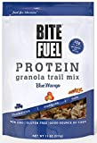 ice cream bites - BITE FUEL High Protein Granola Trail Mix, Non GMO, Gluten Free Healthy Snacks - Blue Mango 11oz