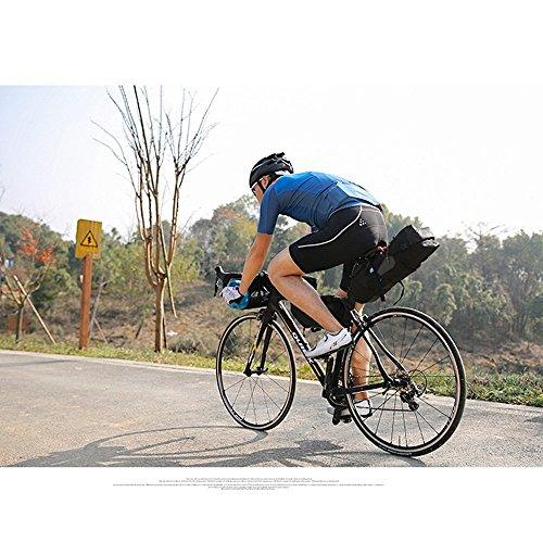 10L Bike Sitz Sattel Wedge Pack Tasche, yicol Mountain Road MTB Fahrrad Pack hinten Aufbewahrung Paar Satteltasche für Reparatur Werkzeug, Handy, Schlüssel und andere Dinge