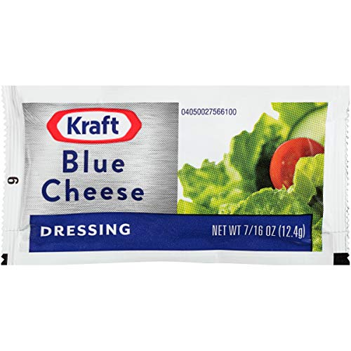 Kraft Blue Cheese Dressing (2 oz Packets, Pack of 200)