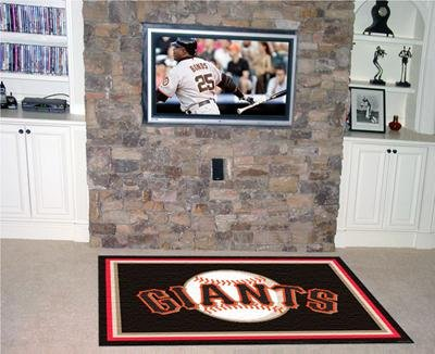 (San Francisco Giants 5'X8' Rug)