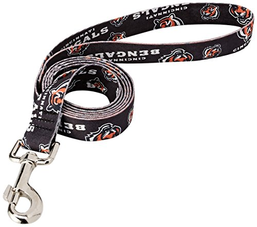 NFL Cincinnati Bengals Team Pet Lead, 0.75-inches by 60-inches ()