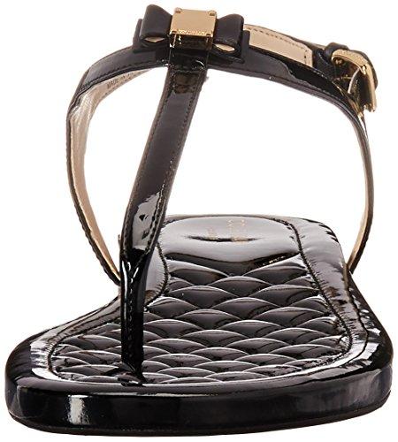 Cole Haan Women's Tali Mini Bow Sandal Black Patent MsXxlx