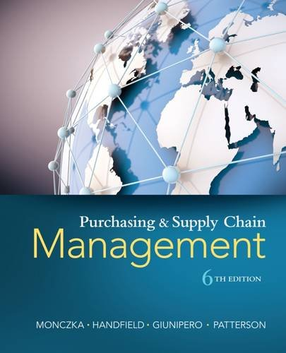 1285869680 - Purchasing and Supply Chain Management