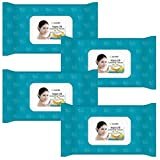 Facial Tissue Kleenex - Kareway Epielle Argan Oil Makeup Remover Cleansing Towelettes, 60 Counts (Pack of 4)