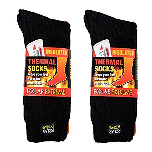 (Polar Extreme Men's Thermal Sock Pack of 2)