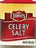 Tone's Mini's Celery Salt, 1.20 Ounce (Pack of 6)
