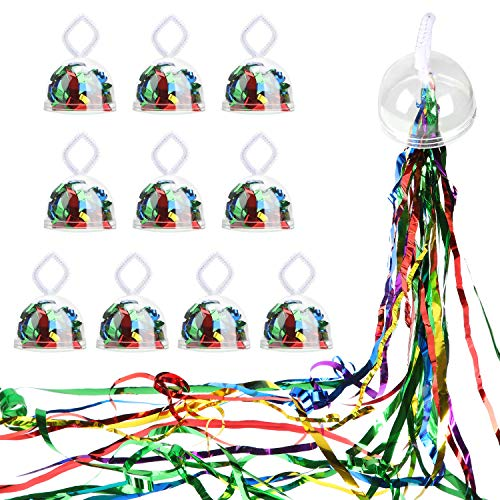 10 Pieces Throw Streamers Party Streamers for Birthday