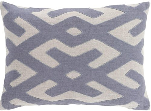 13'' x 19'' Tribal Rhythm Elephant and Fog Gray Decorative Throw Pillow-Down Filler by Diva At Home