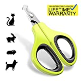 Updated 2019 Version Pet Nail Clippers for Small Animals - Best Cat Nail Clippers Claw Toenail Trimmer - Professional Home Grooming Kit for Cats Dog Bunny Rabbit Bird Puppy Kitten Ferret Kitty