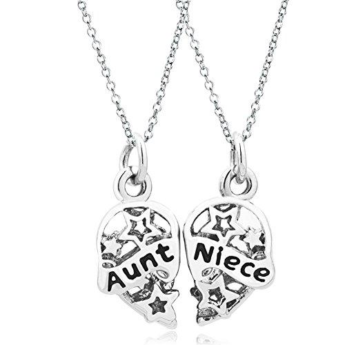 CharmsStory Chains Pendant Necklace Heart shape