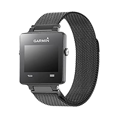 Oitom Replacement Band/Strap for GARMIN VIVOACTIVE Smart Fitness Watch, Small,large