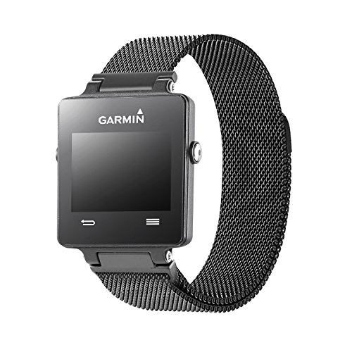 Oitom Replacement Band/Strap for GARMIN VIVOACTIVE Smart Fitness Watch, Large, Black by Oitom